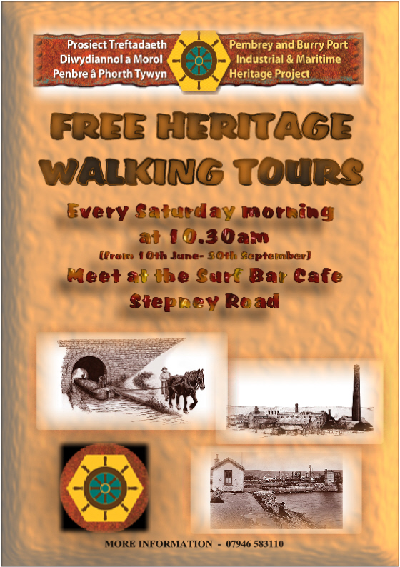 Heritage walks around Burry Port