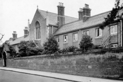 Almshouses in Birmingham built by Josiah Mason Courtesy J. M. Trust