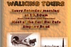 Heritage walks around Burry Port