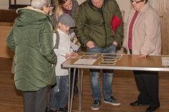 The project launch, examining the artefacts